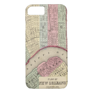 New Orleans Map by Mitchell iPhone 8/7 Case