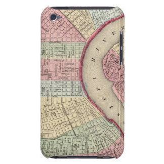 New Orleans Map by Mitchell iPod Touch Cases