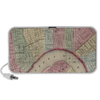 New Orleans Map by Mitchell Travel Speaker