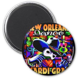 New Orleans Mardi Gras #010 Magnet