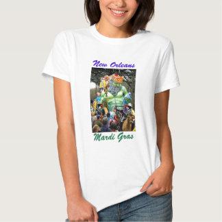 New Orleans Mardi Gras  Parade Photograph T-shirt