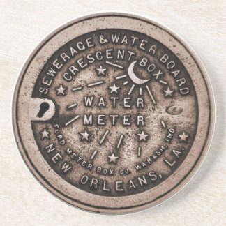 New Orleans Meter Cover Coaster