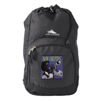 New Orleans Music backbag Backpack