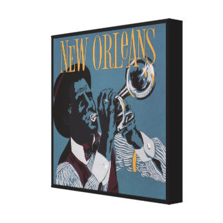 New Orleans Music canvas print