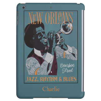 New Orleans Music custom name device cases