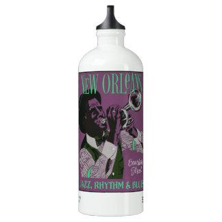 New Orleans Music custom name travel bottle SIGG Traveller 1.0L Water Bottle