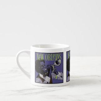 New Orleans Music espresso mug