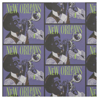 New Orleans Music fabric