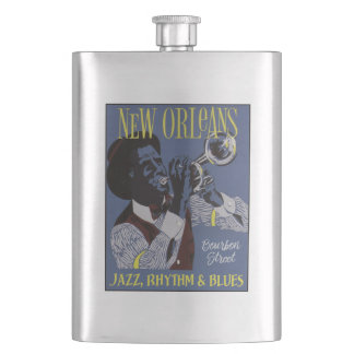 New Orleans Music flask