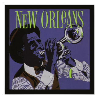 New Orleans Music poster