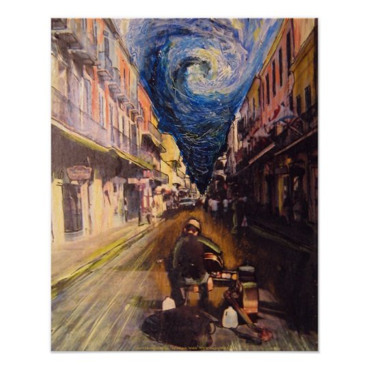 New Orleans Musician Poster