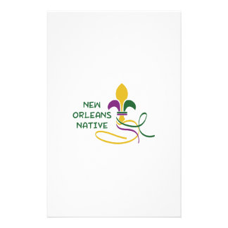 NEW ORLEANS NATIVE CUSTOMISED STATIONERY