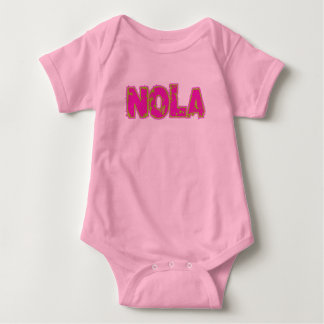 New Orleans NOLA Baby Bodysuit