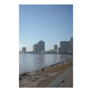 New Orleans River Front Stationery Paper