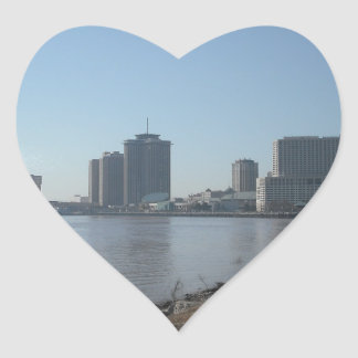 New Orleans River Front Stickers