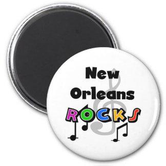 New Orleans Rocks Magnet