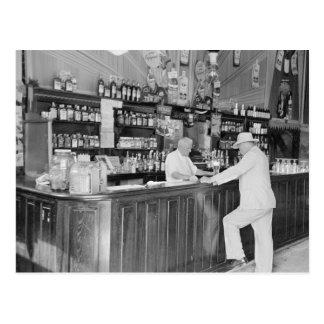 New Orleans Saloon, 1938 Postcard