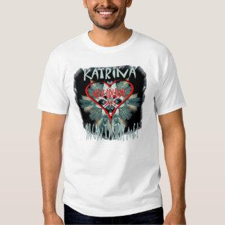 New Orleans says to Katrina Tee Shirt