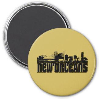 New Orleans Skyline Magnet