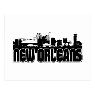 New Orleans Skyline Postcard