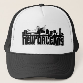 New Orleans Skyline Trucker Hat