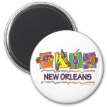 NEW-ORLEANS-SQUARES-eps copy Refrigerator Magnets