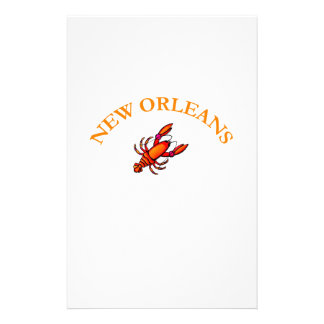 New Orleans Stationery Design