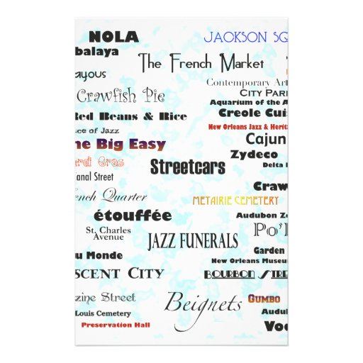New Orleans Personalized Stationery