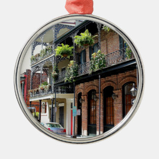 New Orleans Street Scene Christmas Ornament