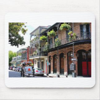 New Orleans Street Scene Mouse Mat