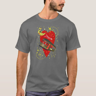 New Orleans Streetcar Desire Crescent Moon T-Shirt
