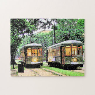 New Orleans Streetcar Jigsaw Puzzle