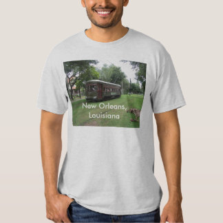 New Orleans Streetcar T Shirt