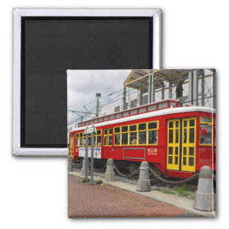 New Orleans Streetcart Magnet