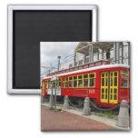 New Orleans Streetcart Refrigerator Magnet