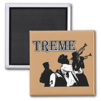 New Orleans, Treme Square Magnet