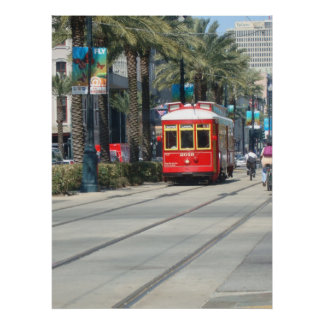 New Orleans Trolly Poster