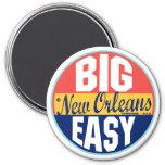 New Orleans Vintage Label 7.5 Cm Round Magnet