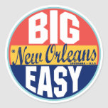 New Orleans Vintage Label Stickers