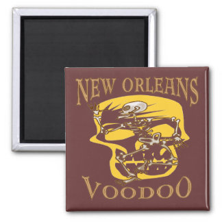 New Orleans Voodoo Square Magnet