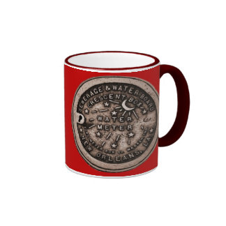 New Orleans Water Meter Cover Mugs