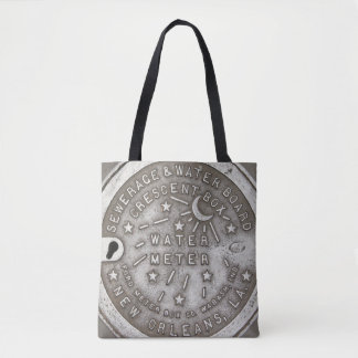 New Orleans Water Meter Cover Tote Bag