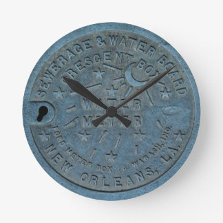 New Orleans Water Meter photo Wallclocks