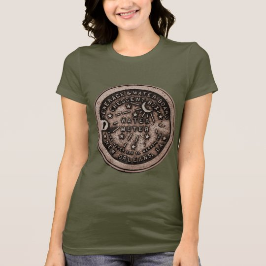 New Orleans Water Metre Cover T-Shirt