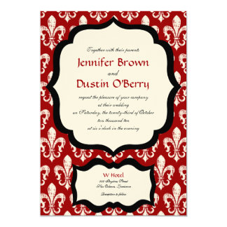 New Orleans Wedding Invitation