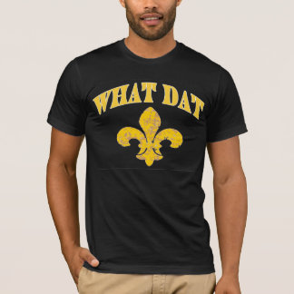 New Orleans What Dat T-Shirt
