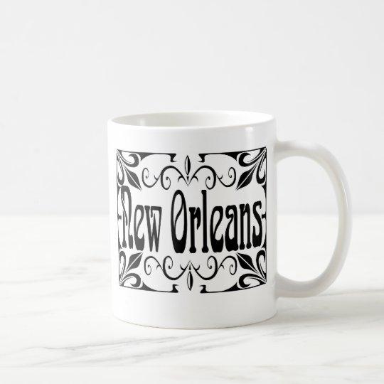 New orleans Wrought Iron Coffee Mug