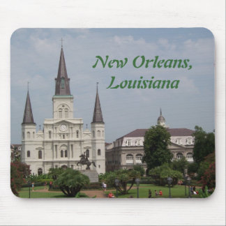 New Orleasn French Quarter Mouse Pad