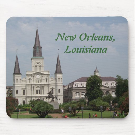 New Orleasn French Quarter Mousepad