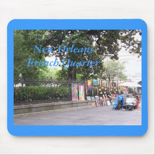 New Orleasn French Quarter Mouse Pads